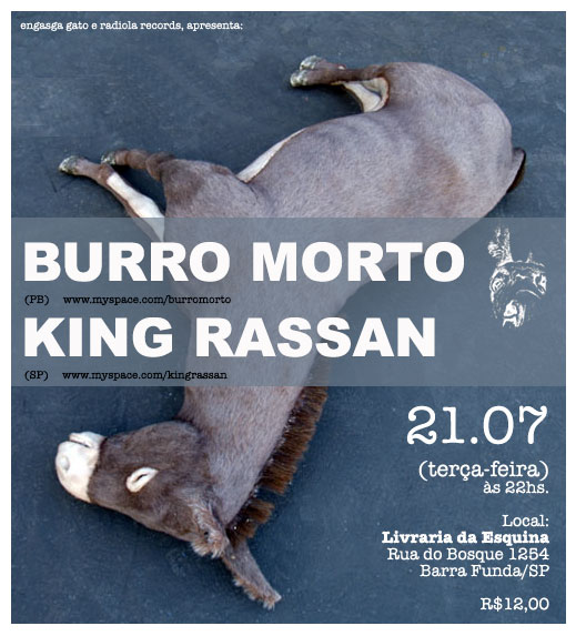 burro morto e king rassan