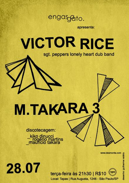 VICTOR RICE e M.TAKARA 3